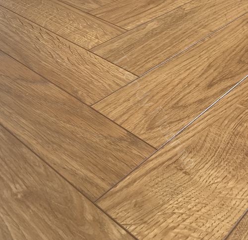 Natural Solutions Chateau Herringbone Venice Oak Laminate Wood
